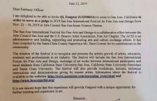 齐方炜受邀担任美国圣荷西(硅谷区)国际美术与设计大赛评委