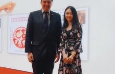 《珠宝时代》受邀参加大使馆中国-乌拉圭、中国-古巴纪念封揭牌仪式