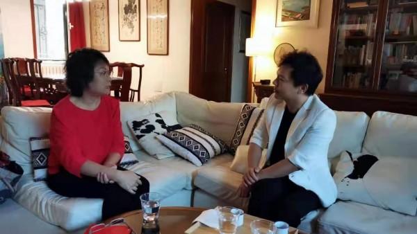 时代访谈录——《世界中国》意大利意中双语杂志主编胡兰波女士专访